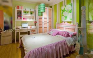 淡雅卧室儿童床