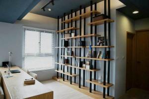75平现代书房装修效果图