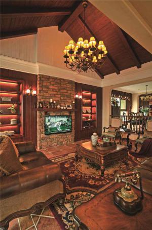 欧式奢华客厅大茶几图片