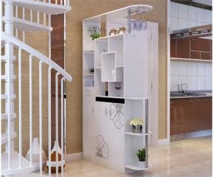 现代客厅餐边柜
