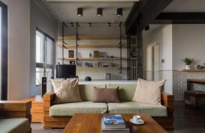 客厅书房现代简约书房装修效果图