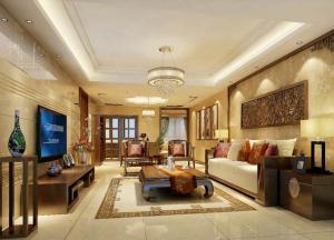 新中式风格装修客厅