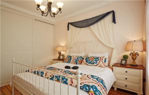 民族风卧室床