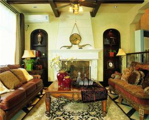 简易欧式沙发图片