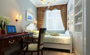 卧室搭配简欧书房装修效果图