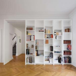 多功能书房装修效果图壁柜