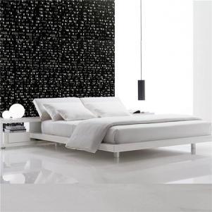 白色家具家具床