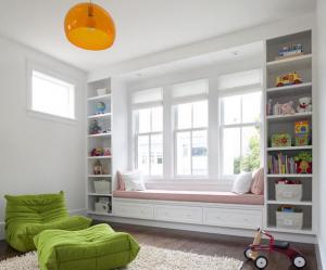 90平方米小孩书房装修效果图