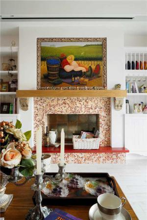 欧式实木客厅家具图片