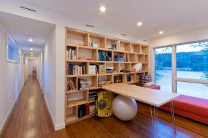 小户型温馨开放式书房装修效果图