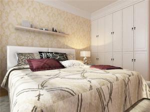 主卧室的床简欧风格图册