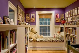几款家庭书房装修效果图