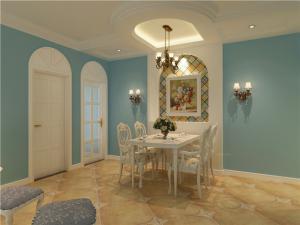 地中海风格餐桌搭配