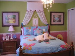 公主房间卧室二层床
