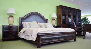 美式卧室二层床家具