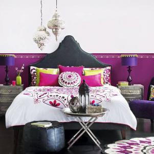 民族风卧室床款式