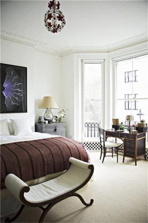 卧室床法式家具