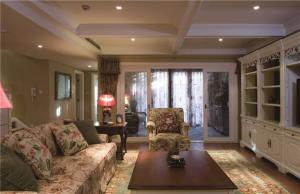现代客厅沙发摆放效果图欣赏