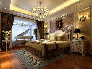 多功能带飘窗的卧室装修图片