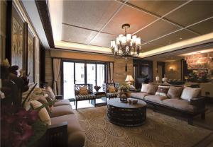 家装简易布艺沙发