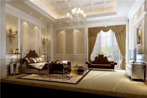 简欧家庭卧室装修图片