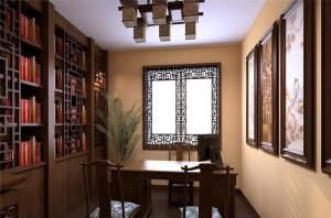 古色古香新中式书柜