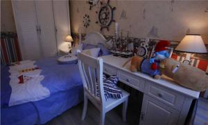 欧洲精致儿童书桌