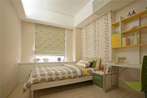 现代清新卧室书柜