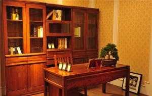 简单大方中式书桌