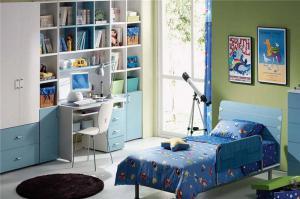 儿童房卧室书柜