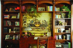 古韵风中式书柜