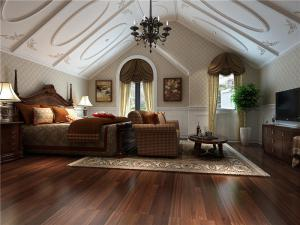 现代日式卧室装修图片