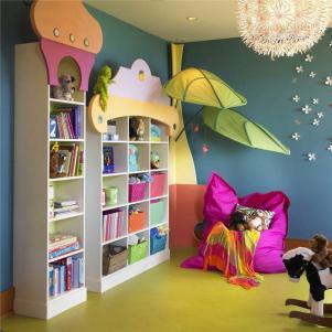 创意造型儿童房书柜