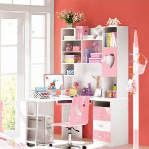简单儿童房书柜