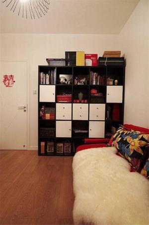 家用客厅书柜