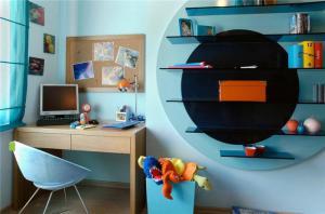 北欧简约儿童书桌