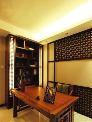 小型中式书柜