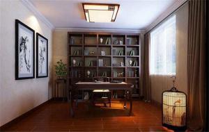 整体新中式书柜
