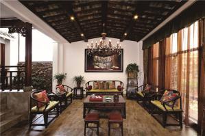 好看的中式客厅家具图片