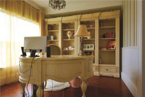 欧式书桌家具效果图