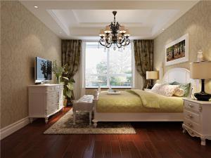 美式卧室布置