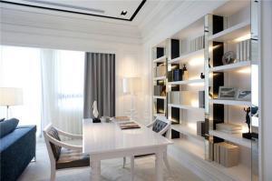 最新客厅书柜家具