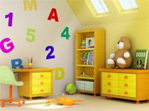 童趣可爱儿童房书柜