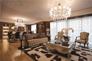 时尚客厅沙发布局图片