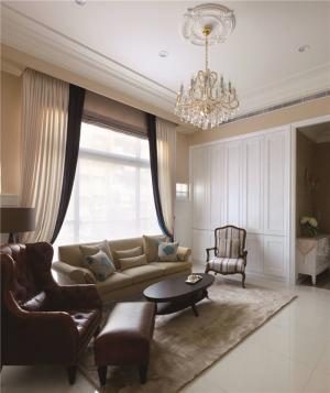 时尚长方形客厅家具图片