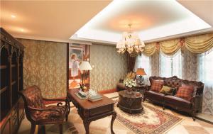 长方形客厅家具装饰