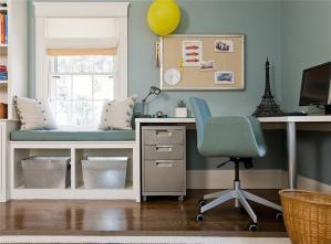 童趣可爱美式书桌