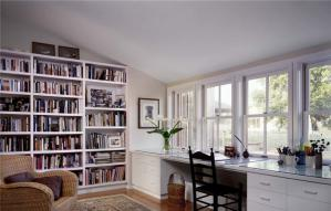 书柜墙书柜设计图