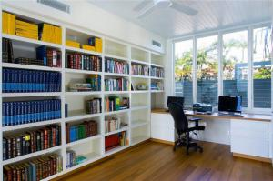 家居实用收纳书柜