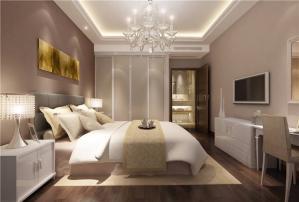 欧式奢华卧室布置